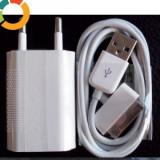 Incarcator compatibil iphone 4 4S + cablu usb compatibil iphone 4 4S