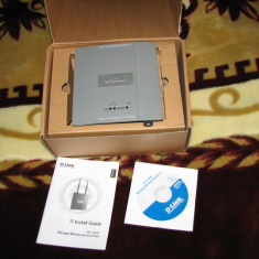 DWL-3200AP Access Point Profesional 108Mbps cu PoE in cutie originala - Acces point D-link