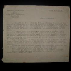 Uniunea Avocatilor din Romania, scrisoare 1928