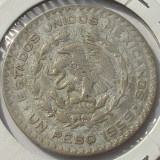 1 Peso 1959 Mexic  Argint 10%