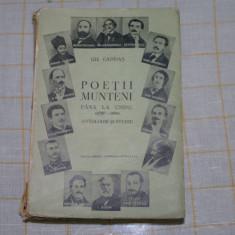 Poetii munteni pana la unire - Antologie si studiu - Gh. Cardas - Editura ALCALAY - 1936 - Carte veche