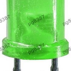 Led 3mm, verde, rotund, mat-140301
