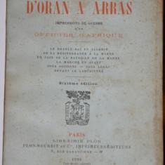 D*oran A Arras, anticariat, carti vechi - Carte veche