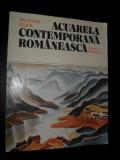 Acuarela contemporana romaneasca-VALENTIN CIUCA