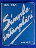 ION PAS-SIMPLE INTAMPLARI/ED.I-A/1943, Alta editura