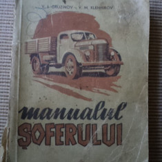 MANUALUL SOFERULUI GRUZINOV KLENNIKOV carte tehnica auto hobby - Carti auto