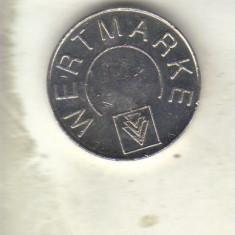 Bnk jt jeton wertmarke - karcher - Jetoane numismatica