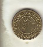 Bnk jt jeton bensberger taler - scloss-apotheke * bensberg