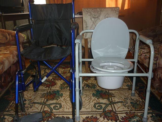 SCAUN CU ROTILE PLIANT PERSOANE HANDICAP WC.PLIANT BOLNAVI! foto mare