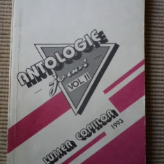 Antologie jocuri volumul 2 lumea copiilor 1993 carte hobby