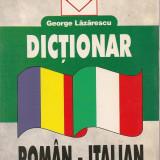 George Lazarescu - Dictionar roman - italian