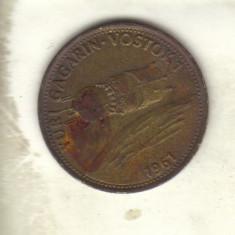 bnk jt jeton Shell - Iuri Gagarin - Vostok 1