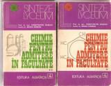 (C1662) CHIMIE PENTRU ADMITERE IN FACULTATE DE CONSTANTIN SI MARIA RABEGA, EDITURA ALBATROS, BUCURESTI, 1973; 2 VOLUME