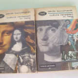 CULTURA RENASTERII IN ITALIA JAKOB BURCKHARDT VOL, 1, 2 - Istorie