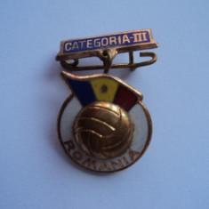 Insigna fotbal Romania