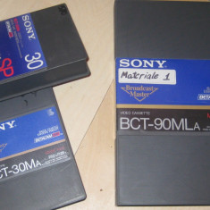 Casete video Betacam SP Sony