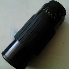 Obiectiv foto Prakticar MC Auto Zoom f=80-200mm - Obiectiv RF (RangeFinder)