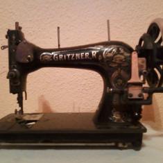 Masina De Cusut Gritzner,, R
