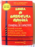"""LIMBA SI LITERATURA ROMANA PENTRU EXAMENUL DE CAPACITATE"", Constanta Barboi / Marieta Popescu, 2000. Absolut noua, Alta editura"