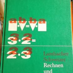 CARTE IN GERMANA -LAMBACHER SCHWEIZER -RECHNEN UND RAUMLEHRE -1