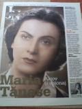 maria tanase jurnalul national editie de colectie revista ziar cultura arta