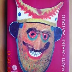 MASTI - (album cu masti populare) - Muzeul taranului roman - Album Arta