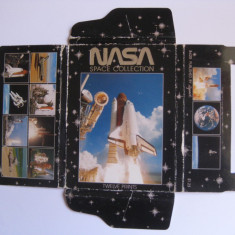 REDUCERE 65%!!! MINI ALBUM NASA SPACE COLLECTION CU 12 FOTOGRAFII