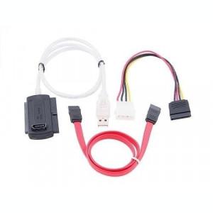Cablu adaptor USB la SATA si IDE