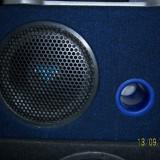 Subwoofer auto cu cutie originala CRUNCH DRIVE Series