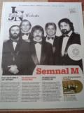 Semnal m jurnalul national editie de colectie ziar de colectie ilustrat muzica
