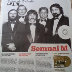 Semnal m jurnalul national editie de colectie ziar de colectie ilustrat muzica - Revista culturale