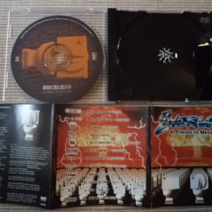 Overload a tribute to metallica cd disc muzica rock heavy metal speed compilatie