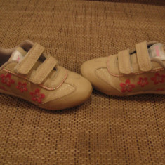 Adidasi marimea 29 active de fete - Adidasi copii, Culoare: Bej, Bej