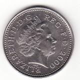 Marea Britanie 10 pence 2000, Europa