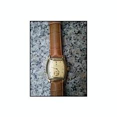 Vand ceas original mecanic Vacheron Constantin suflat cu aur de 18k - Ceas barbatesc Vacheron Constantin, Lux - elegant, Piele, Analog