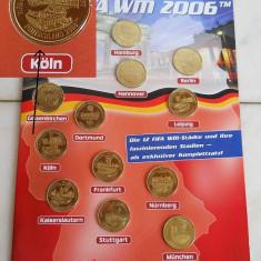 OKAZIE!! SET MEDALII / MONEDE WORLD CUP 2006 GERMANIA - Jubiliare
