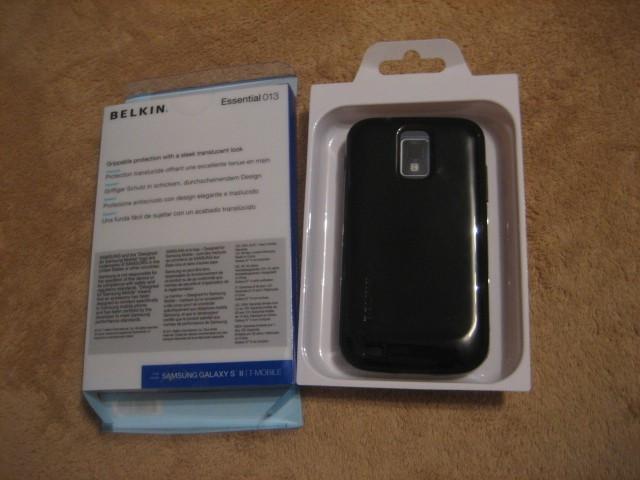 Husa carcasa silicon gel TPU Belkin originala pentru Samsung Galaxy S2 poza reala foto mare