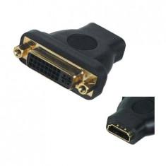 ADAPTOR HDMI MAMA LA DVI MAMA