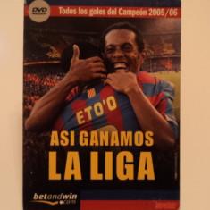 DVD - Golurile echipei BARCELONA in sezonul 2005-`06
