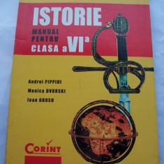 MANUAL DE ISTORIE PENTRU CLASA A VI A - Manual scolar corint, Clasa 6, Corint