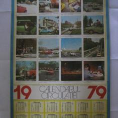 CALENDARUL CIRCULATIEI DIN 1979