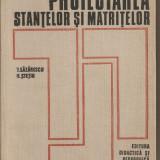 (C1716) PROIECTAREA STANTELOR SI MATRITELOR DE LAZARESCU SI STETIU, EDITURA DIDACTICA SI PEDAGOGICA BUCURESTI 1973