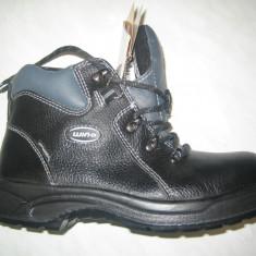 Pantofi de protectie WINK; cod KC92013 negru; marime (41-46) - Ghete barbati Wink, Marime: 45, Piele naturala