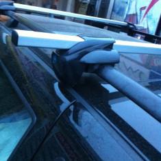 Bare transversale cu cheita antifurt universale cu prindere pe cele longitudinal - Bare Auto transversale