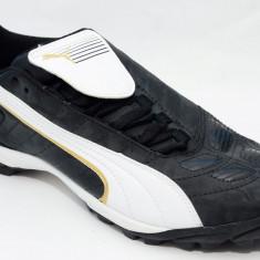 Ghete fotbal sala Puma V-Kon II TT Turf 10125301, ORIGINALE, negru, alte materiale, Marime: 40, 40.5, 41, 42.5, 44, 44.5, Sala: 1