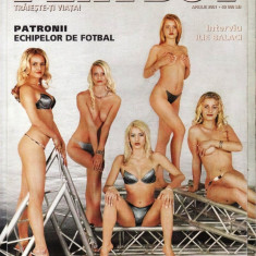 REVISTA PLAYBOY DIN APRILIE 2001 (SUPERBLONDE) - Reviste XXX