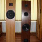 Incinte acustice hi-fi 75w RMS homemade - Amplificator audio