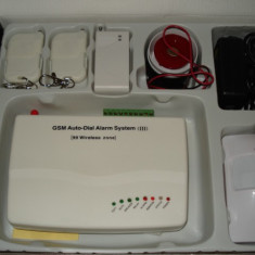 Sistem Alarma Casa GSM  Wireless Antiefractie Sistem cu Reducere !