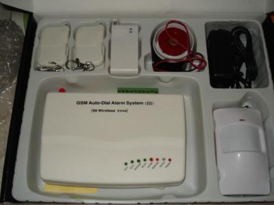 Sistem Alarma Casa GSM  Wireless Antiefractie Sistem cu Reducere ! foto