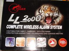 Sistem Alarma Gsm + Senzor Impact: Antiefractie Apartament Casa Magazin Spatiu Comercial foto